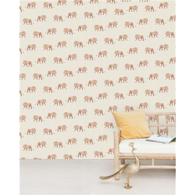 Creative Lab Amsterdam-collectie Safari King behang Mural