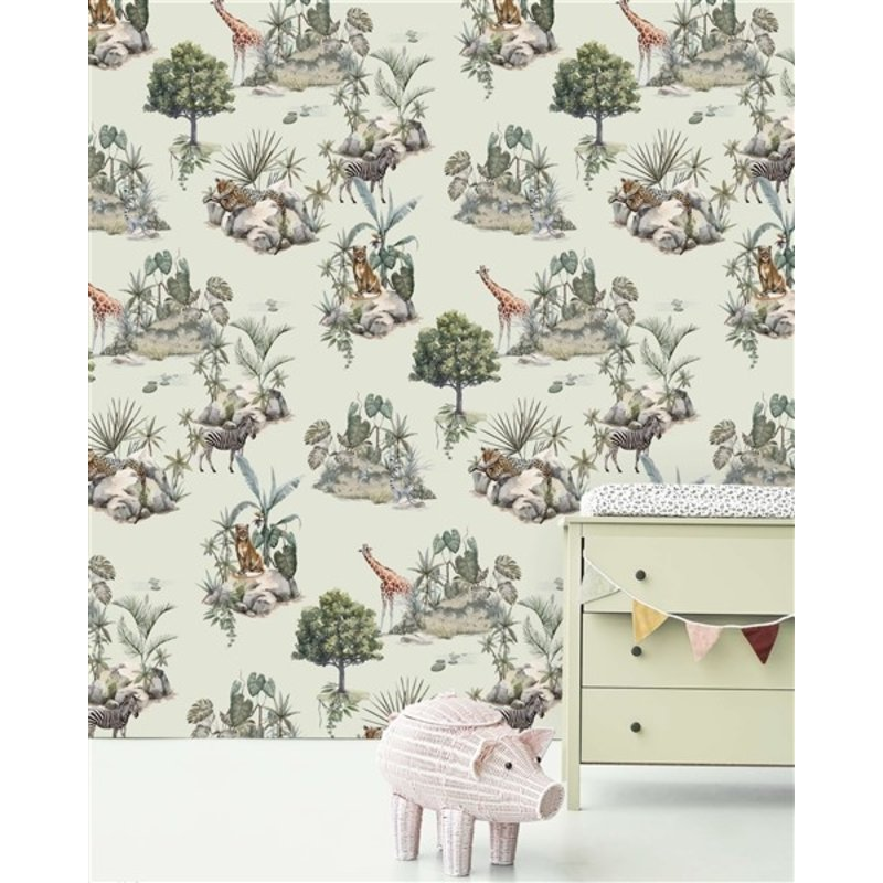 Creative Lab Amsterdam-collectie Safari Rocks Wallpaper Mural