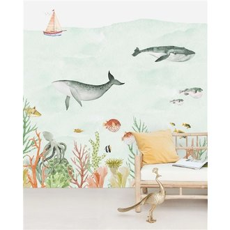 Creative Lab Amsterdam Sealife Coral behang Mural