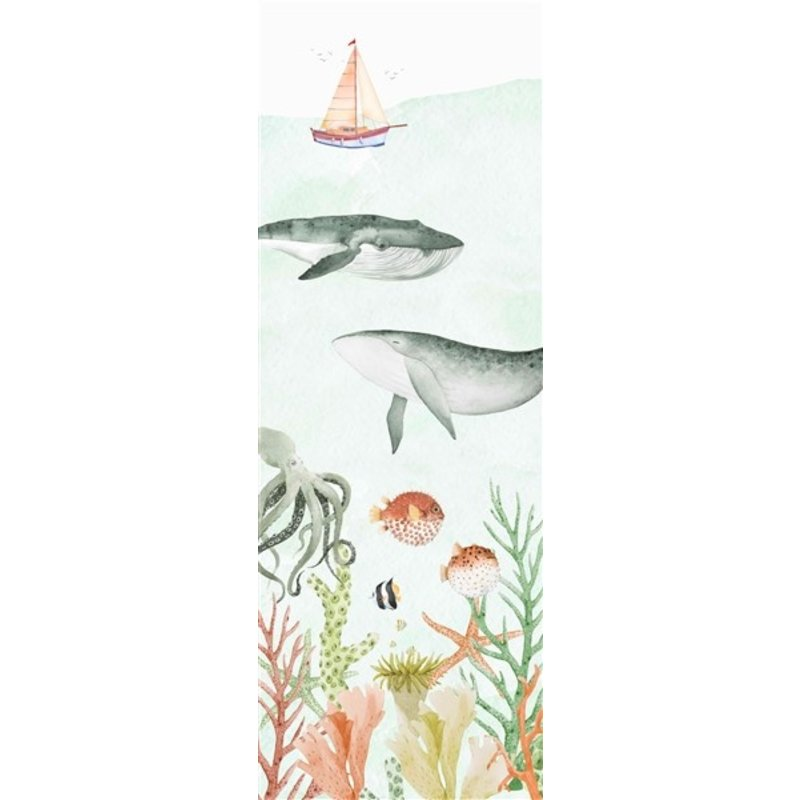 Creative Lab Amsterdam-collectie Sealife Coral behang Mural