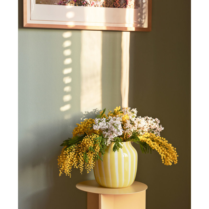 HAY-collectie Juice Vase Wide Yellow
