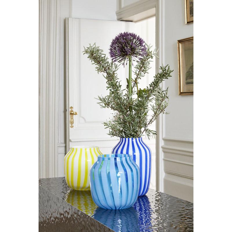 HAY-collectie Juice Vase High Blue