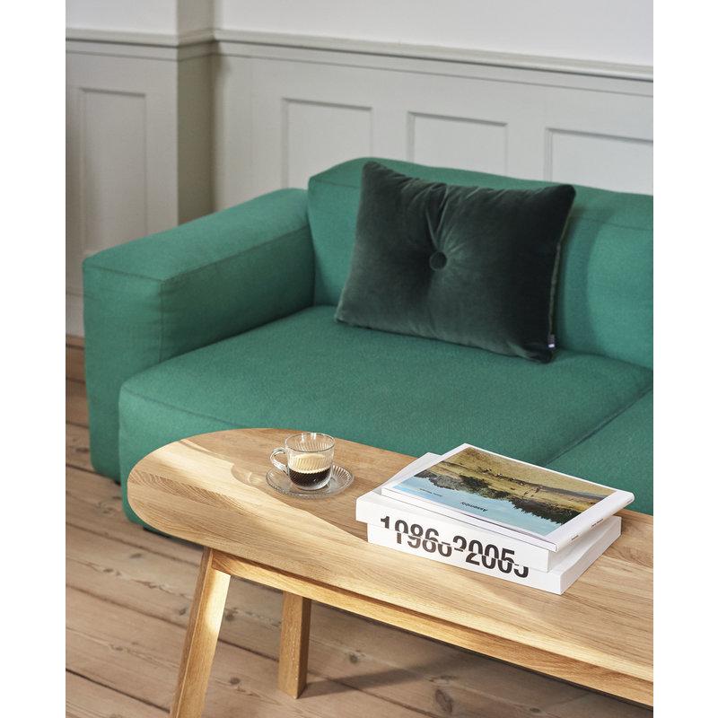 HAY-collectie Dot Cushion 1 dot SOFT Dark green