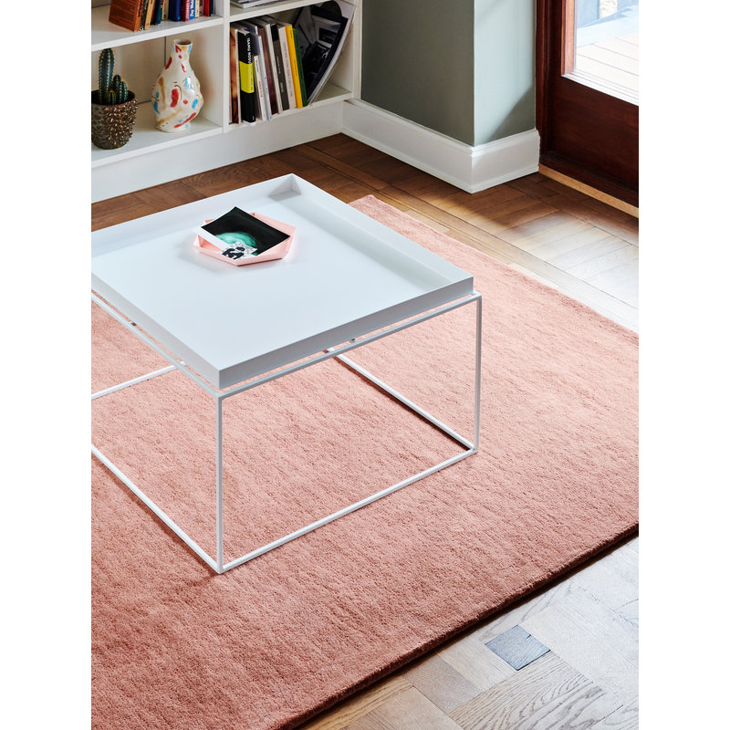 HAY-collectie Tray Table Coffee vierkant L60 x W60 Wit