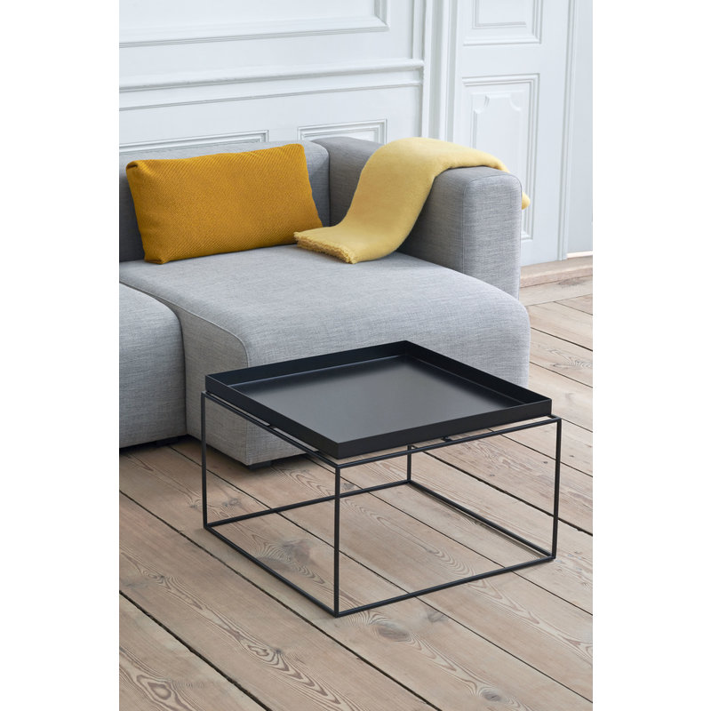 HAY-collectie Tray Table Coffee L60 x W60 Black
