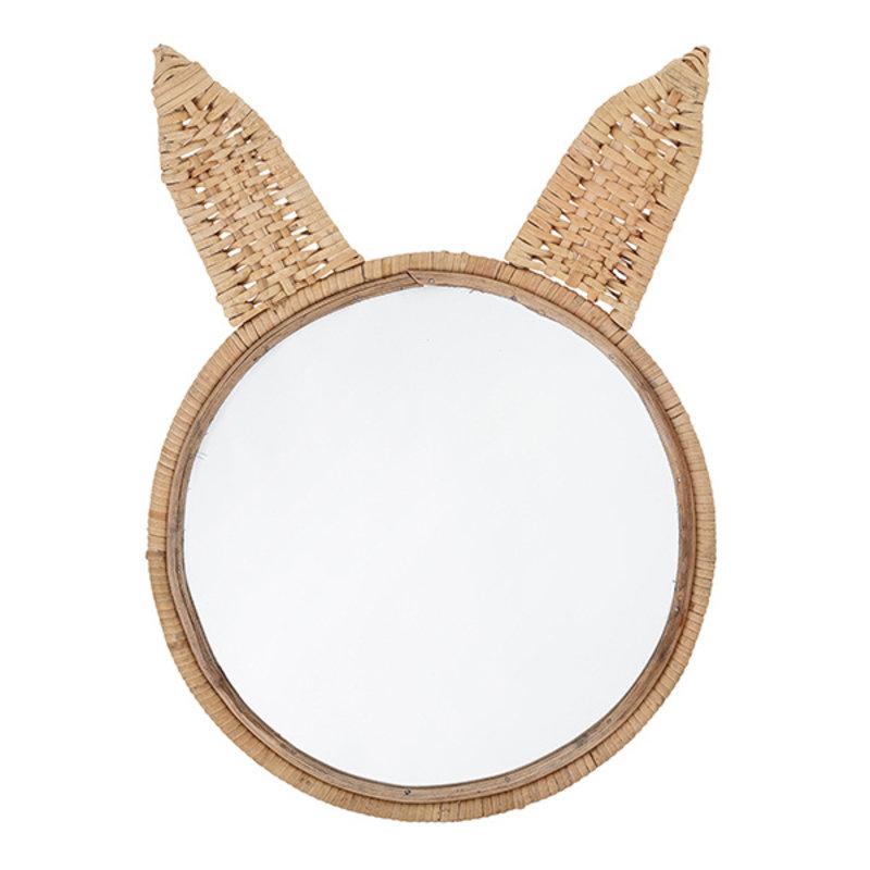 Bloomingville-collectie Mini Spiegel konijn