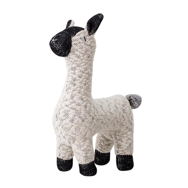 Bloomingville-collectie Mini Zachte knuffel lama