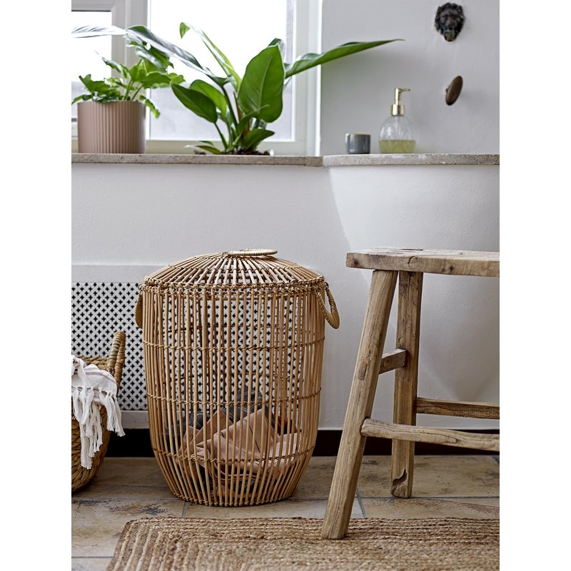 Bloomingville-collectie Vloerkleed Nadil naturel jute