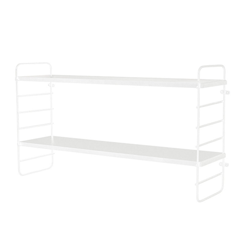 Bloomingville-collectie North Shelf, White, Metal