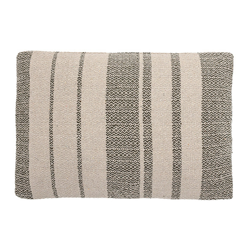 Bloomingville-collectie Cushion, Green, Recycled Cotton