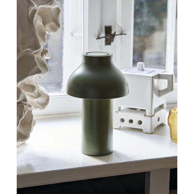 HAY-collectie PC Portable Lamp olijf