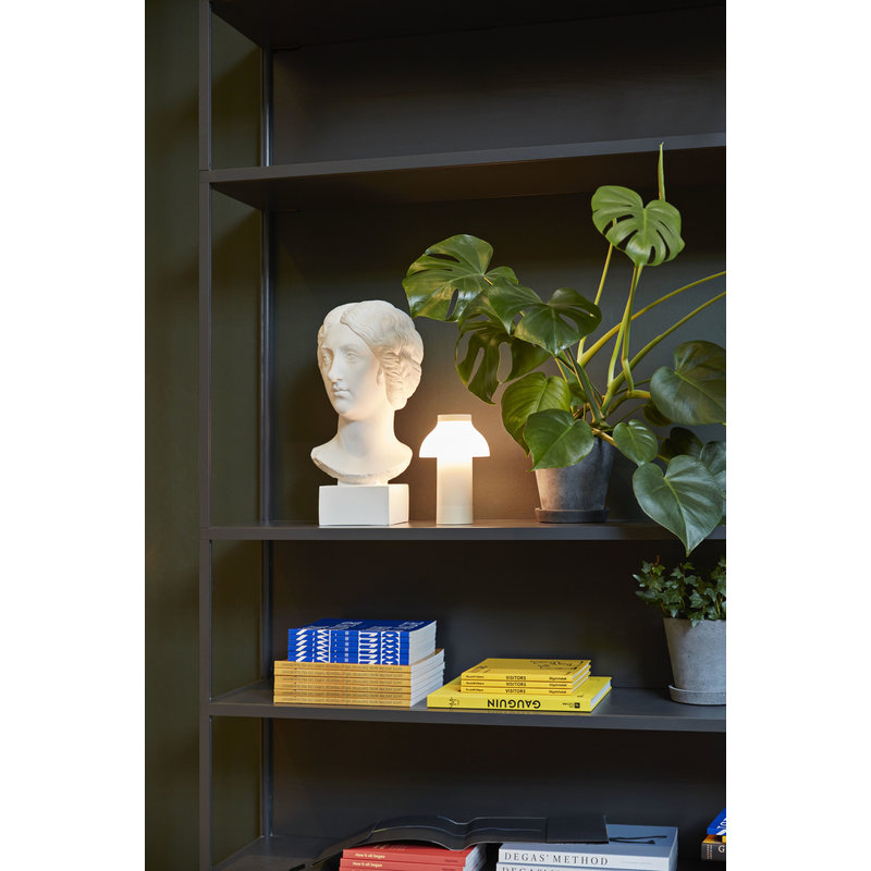 HAY-collectie PC Portable Lamp crème wit