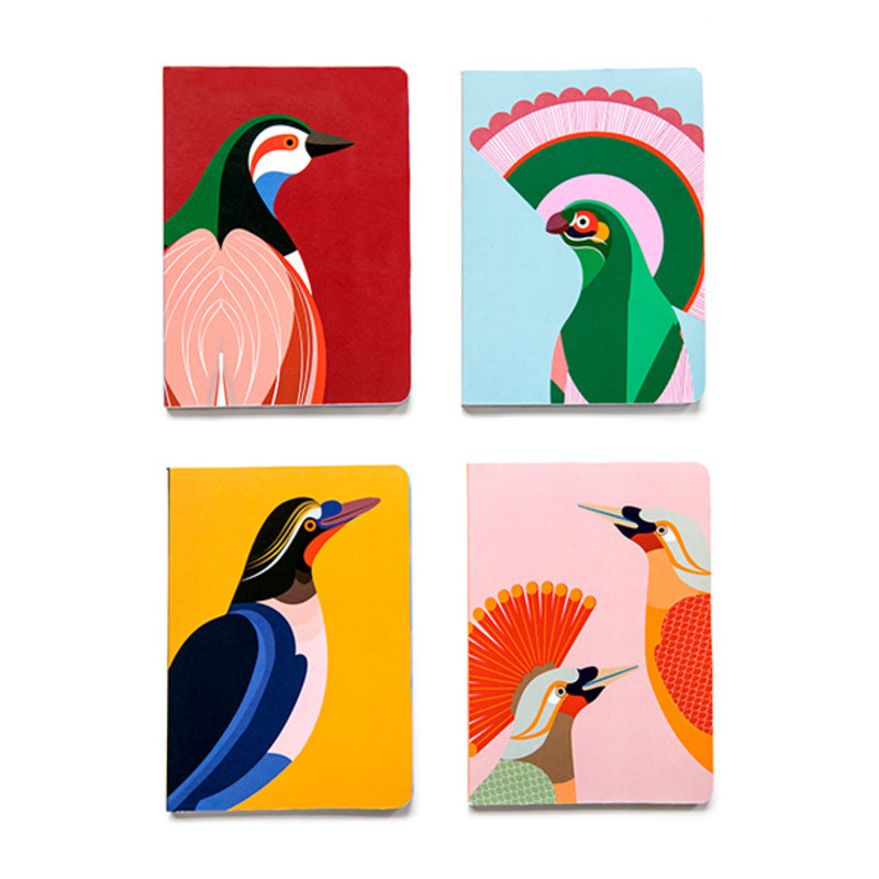 Studio ROOF-collectie Notebook A5 Paradise Bird Rani