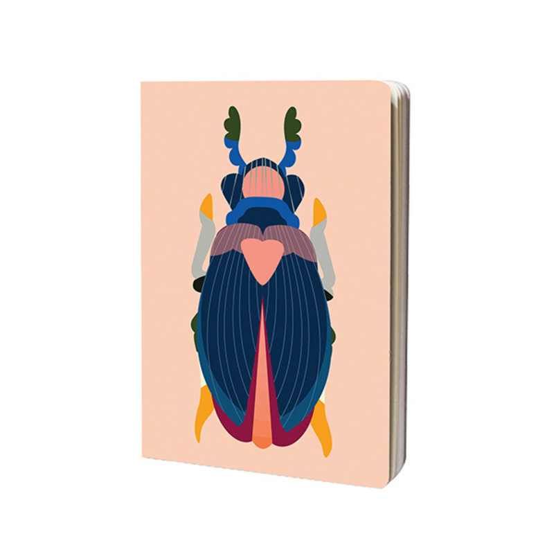 Studio ROOF-collectie Sketchbook A4 Japanese Beetle