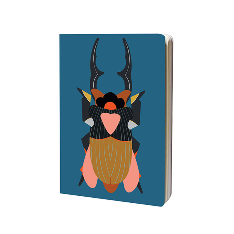 Studio ROOF-collectie Sketchbook A4 Giant Stag Beetle