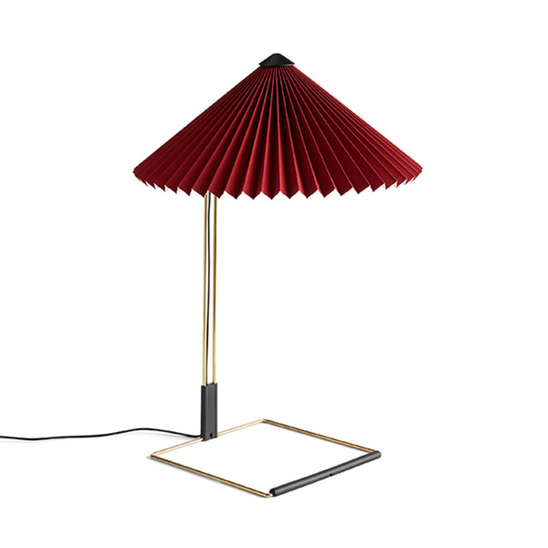 HAY-collectie Matin Tafellamp L oxide rood