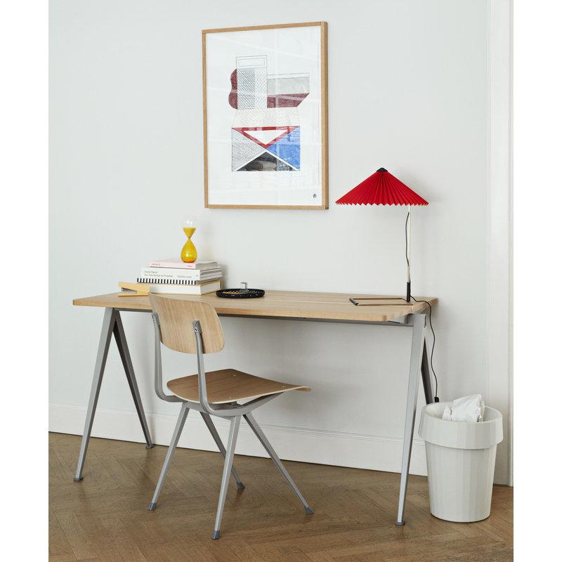 HAY-collectie Matin Tafellamp L rood