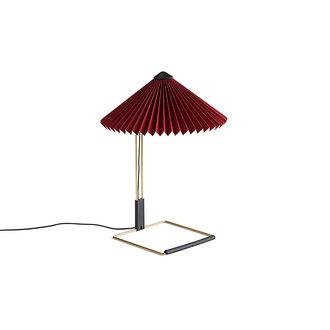 HAY Matin Tafellamp S oxide rood