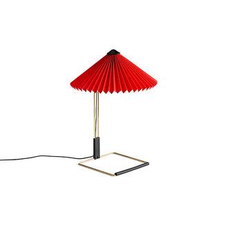 HAY Matin Tafellamp S rood