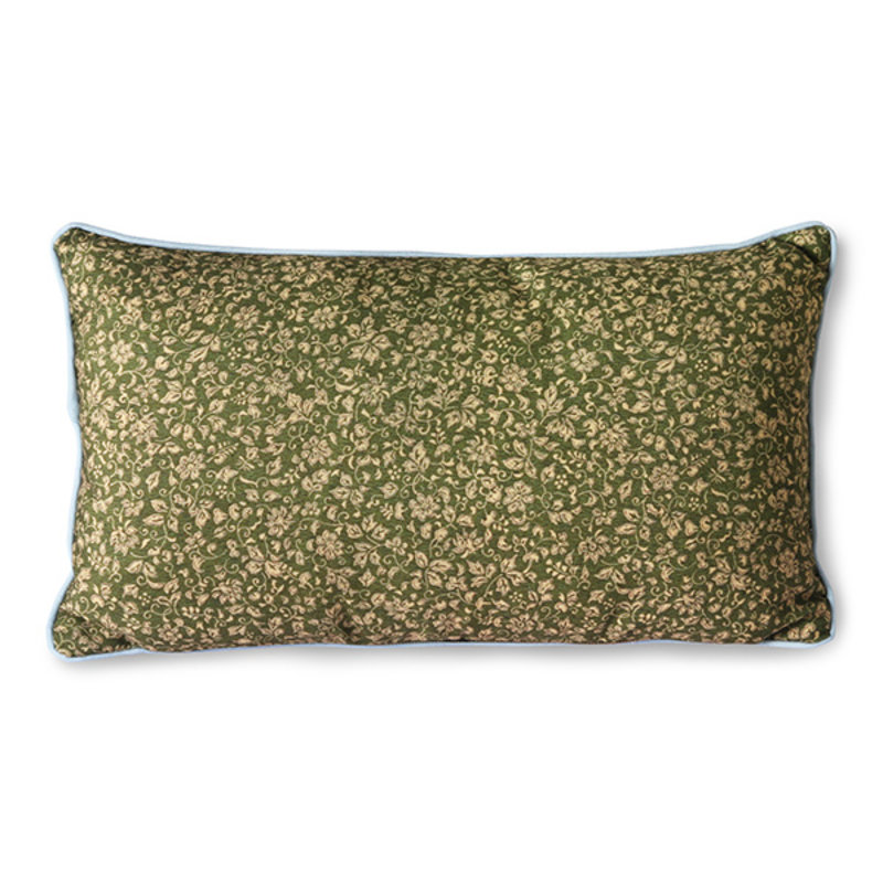HKliving-collectie doris for hkliving: printed cushion blue (35x60)