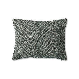 HKliving doris for hkliving: jacquard weave cushion zigzag (30x40)