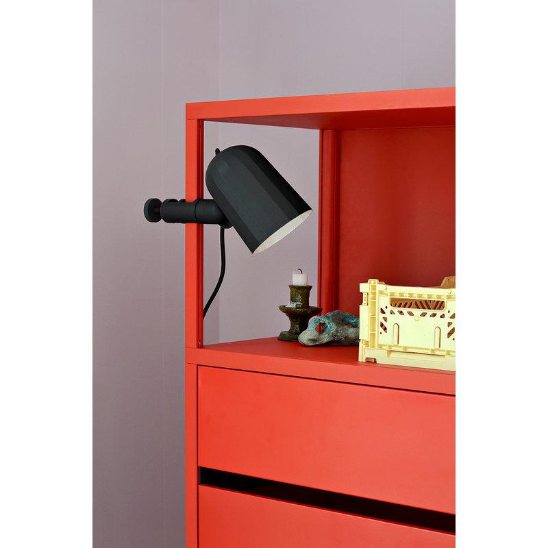 HAY-collectie Noc Clamp Lamp donkergrijs