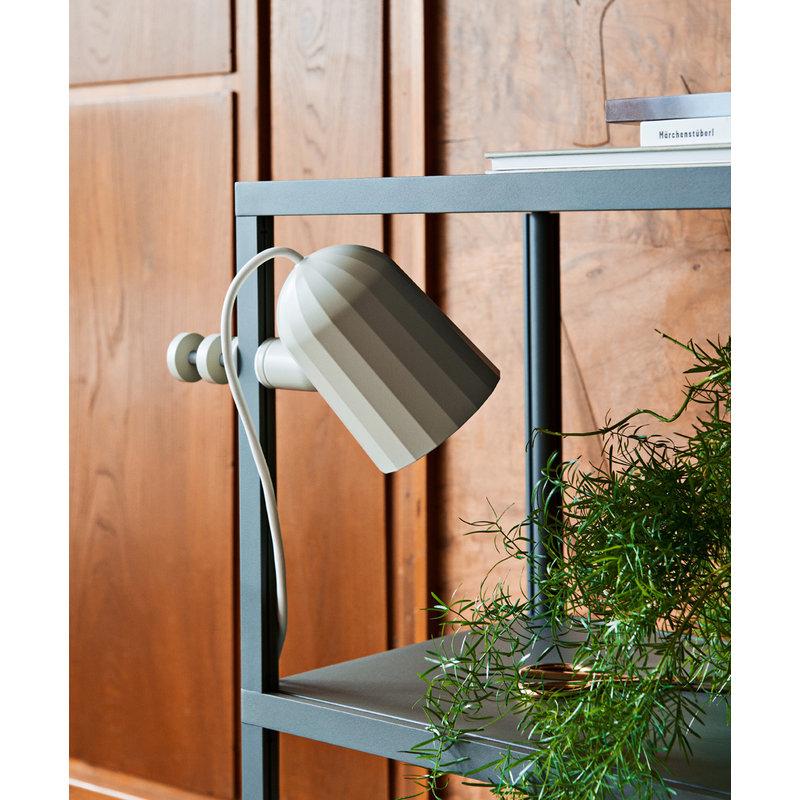 HAY-collectie Noc Clamp Lamp gebroken wit