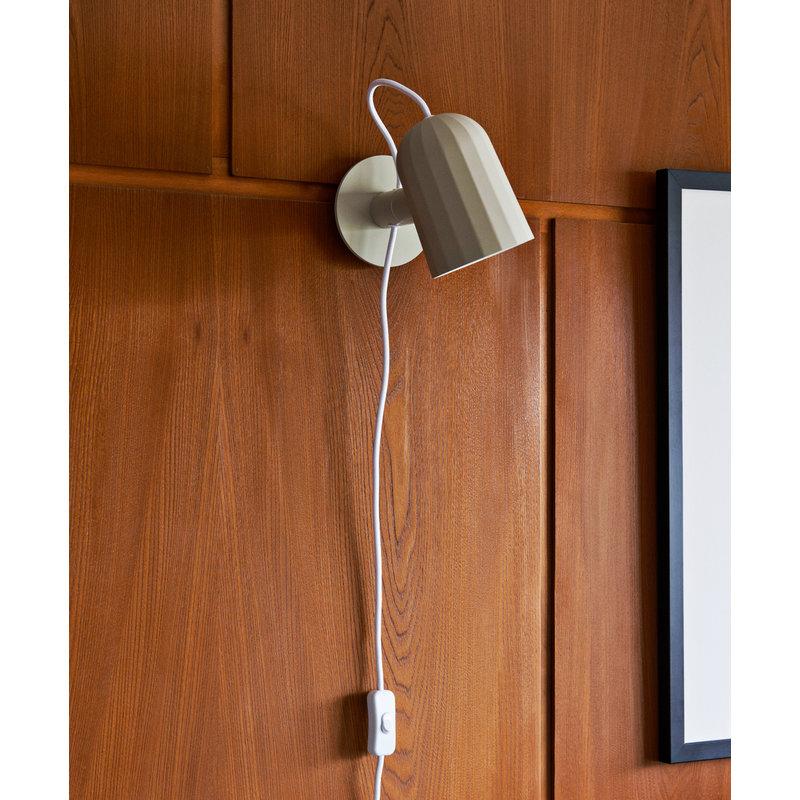 HAY-collectie Noc Wall Wandlamp gebroken wit