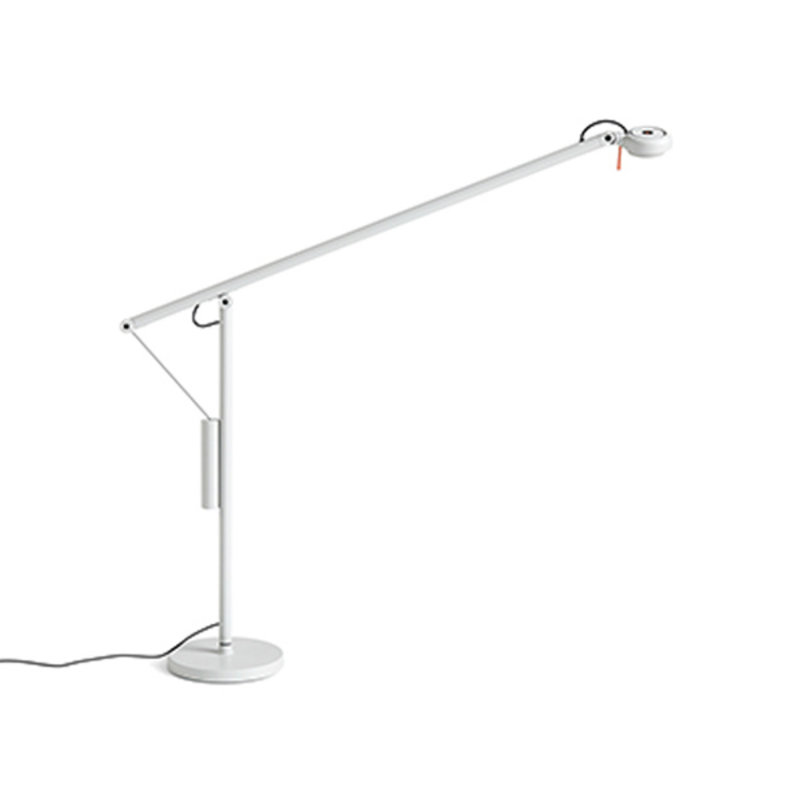 HAY-collectie Fifty-Fifty Table Lamp Bureaulamp asgrijs