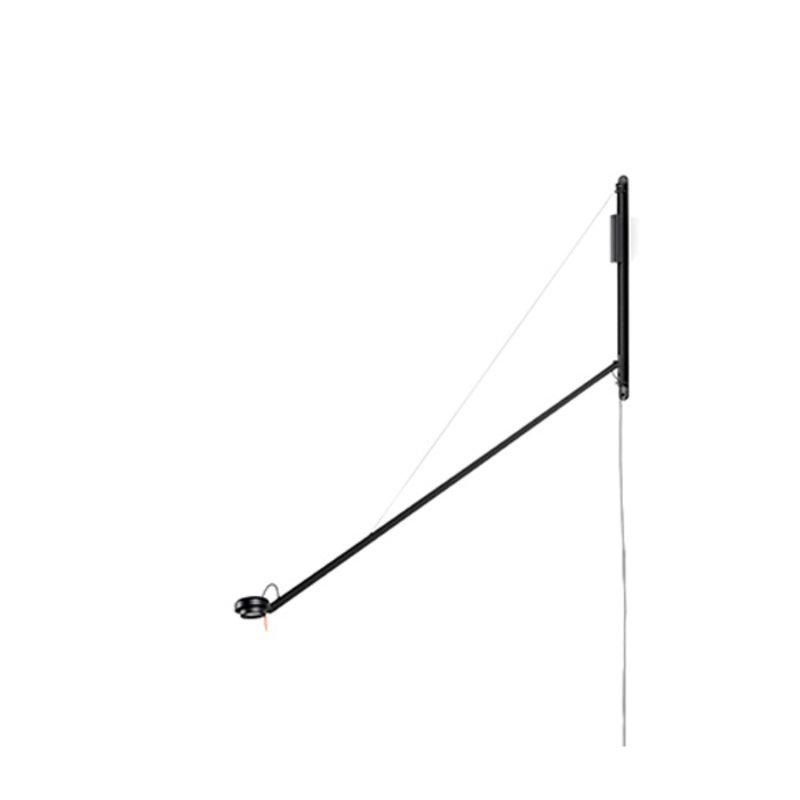HAY-collectie Fifty-Fifty wandlamp zwart