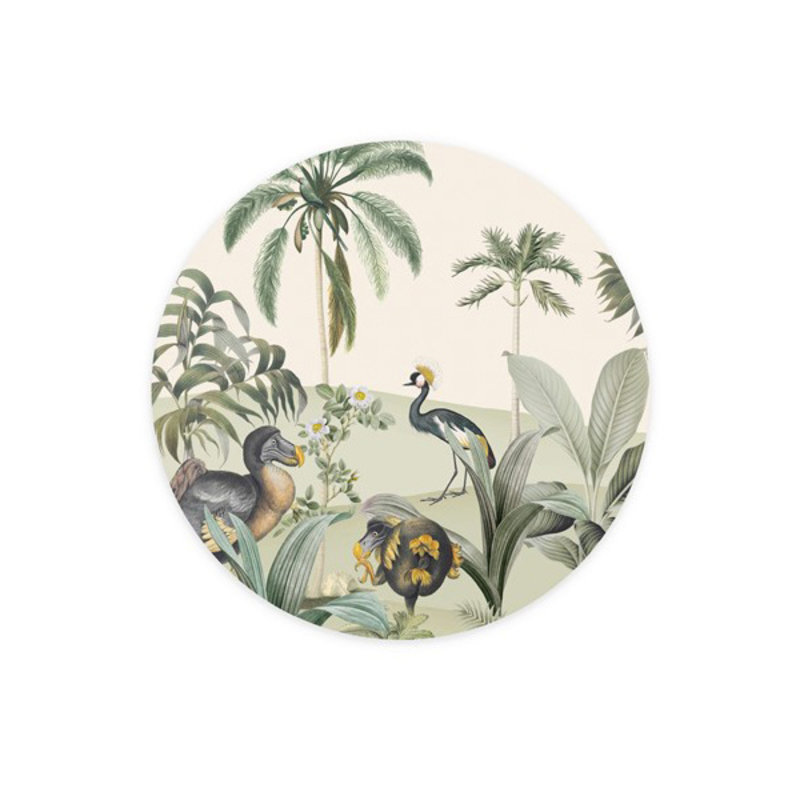 Creative Lab Amsterdam-collectie Wallpaper Circles Dodo Oasis