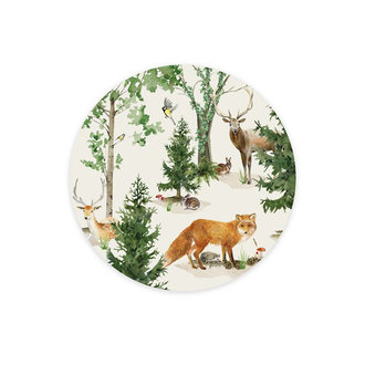 Creative Lab Amsterdam Wallpaper Circles Forest Life
