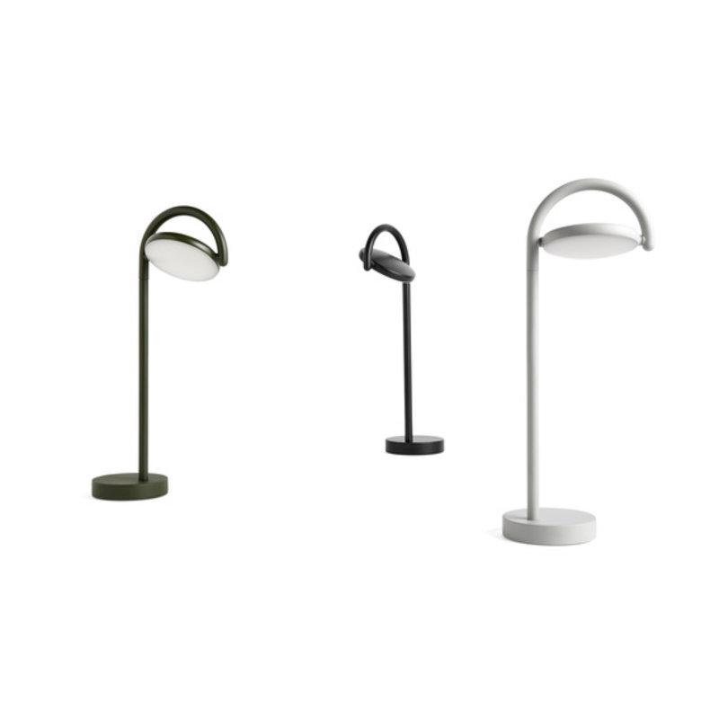 HAY-collectie Marselis Tafellamp asgrijs