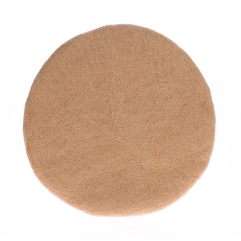 HKliving-collectie Felt seat cover camel