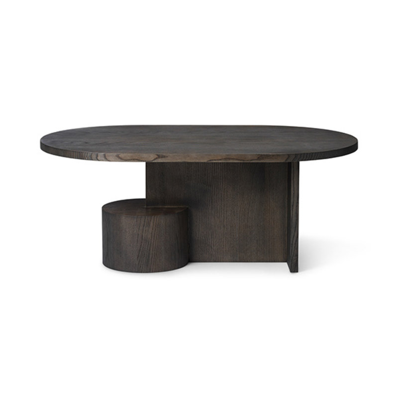ferm LIVING-collectie Insert Coffee Table - Black Stained Ash