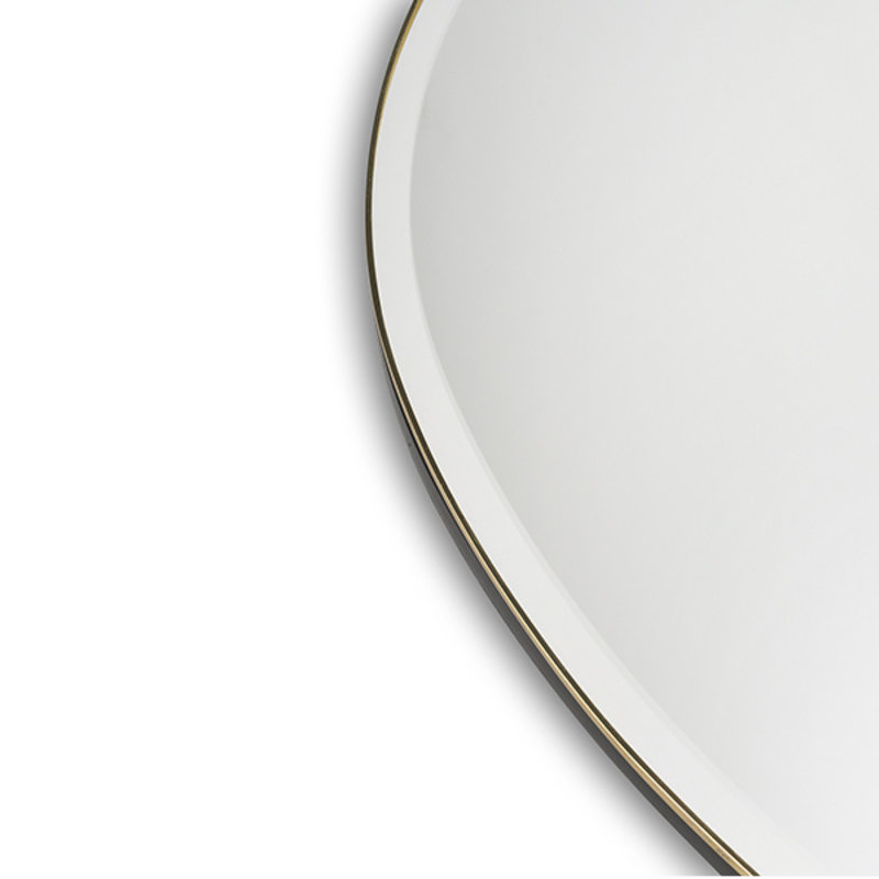 ferm LIVING-collectie Pond Mirror - XL - Brass