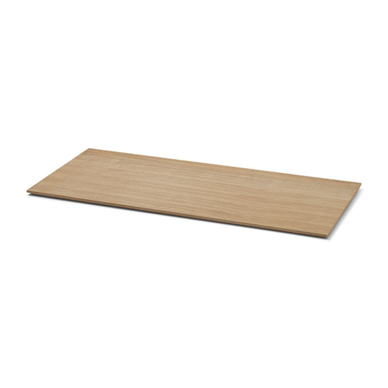 ferm LIVING-collectie Tray voor Plant Box Large - hout - geolied