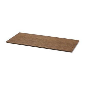 ferm LIVING Tray voor Plant Box Large - hout - smoked