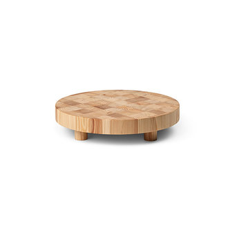ferm LIVING Chess Cutting Board - Round Small