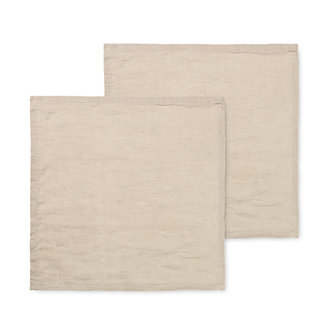 ferm LIVING Linen Napkins - Set of 2 - Natural