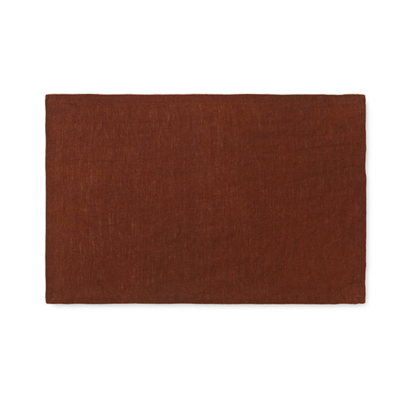 ferm LIVING-collectie Linen Placemat - Set of 2 - Sugar Kelp