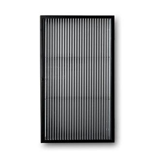 ferm LIVING Haze Wall Cabinet - Reeded Glas - Black