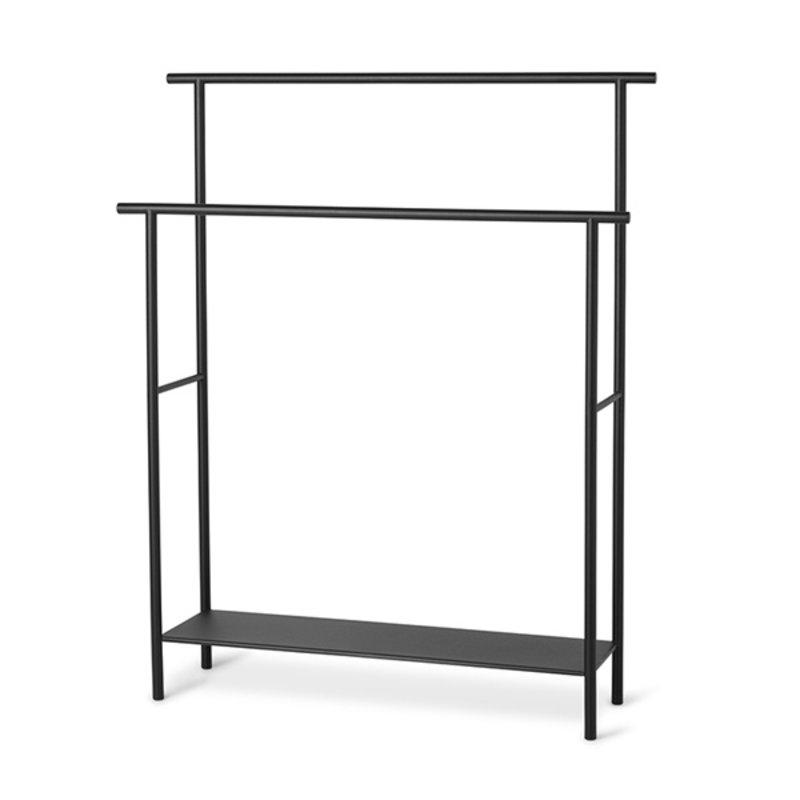 ferm LIVING-collectie Dora Towel Stand - Black