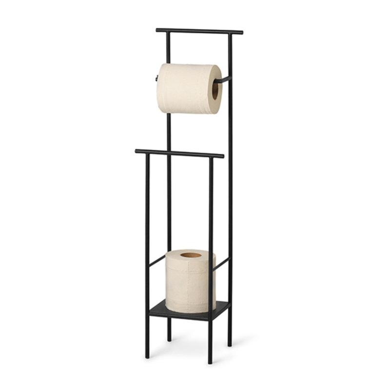 ferm LIVING-collectie Dora Toilet Paper Stand - Black
