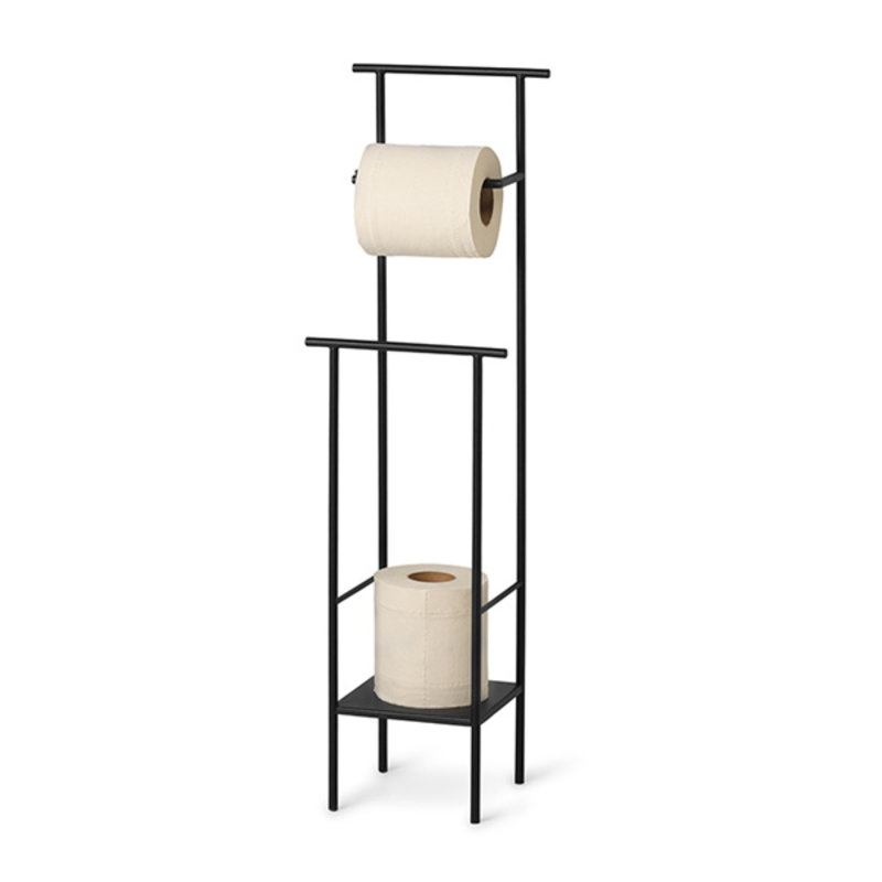 ferm LIVING-collectie Toiletpapierhouder Dora zwart