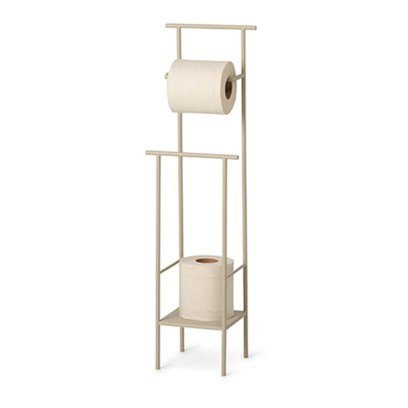 ferm LIVING-collectie Dora Toilet Paper Stand - Cashmere