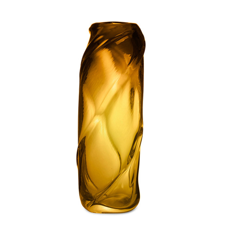 ferm LIVING-collectie Vaas Water Swirl amber