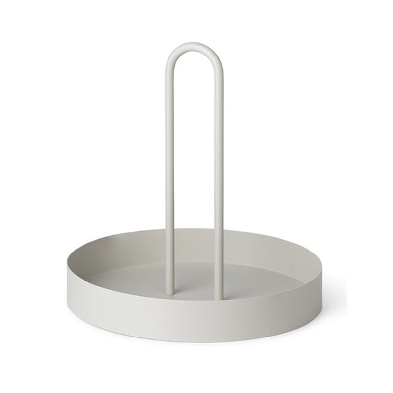 ferm LIVING-collectie Grib Tray - Light Grey