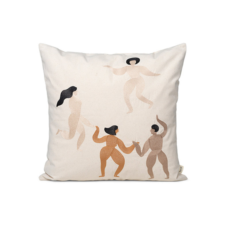 ferm LIVING-collectie Free Cushion - Natural