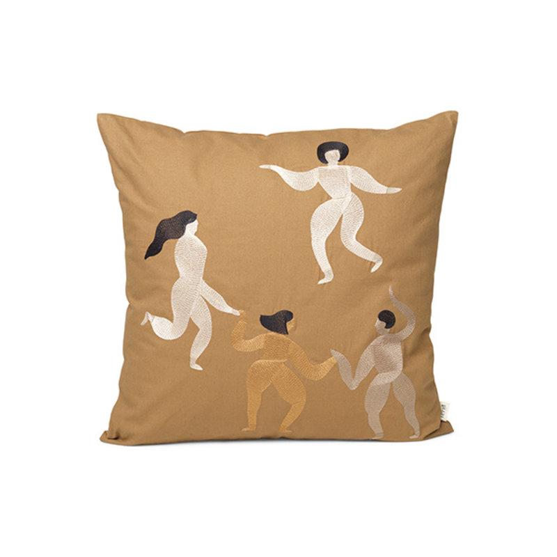ferm LIVING-collectie Free Cushion - Sugar Kelp